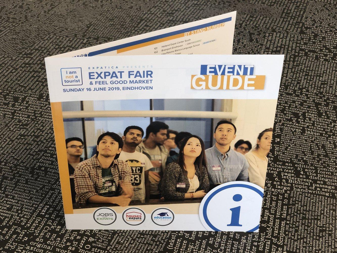 Beursfolders Expat Fair Eindhoven