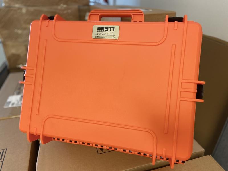 Laser gegraveerde koffer labels